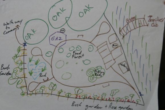 Collaborative concept design for the Bungendore Community Gardens